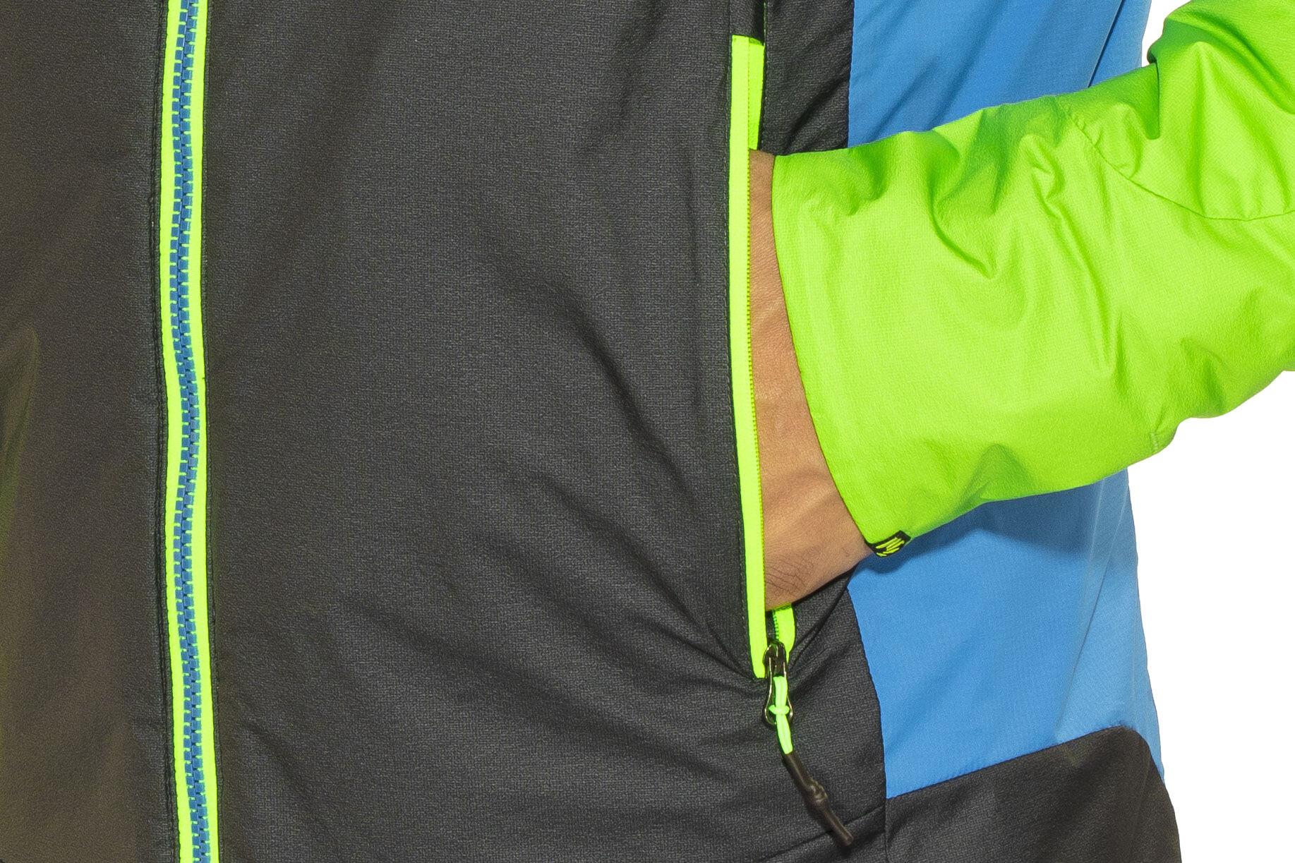 f33f8f10 Karpos Vinson Jakke Herrer, apple green/dark grey/bluette | Find ...